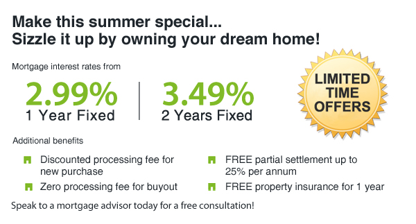 Home Matters Summer Mortgage Offers