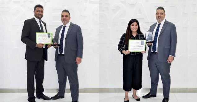 Home Matters Dubai April Top Employees