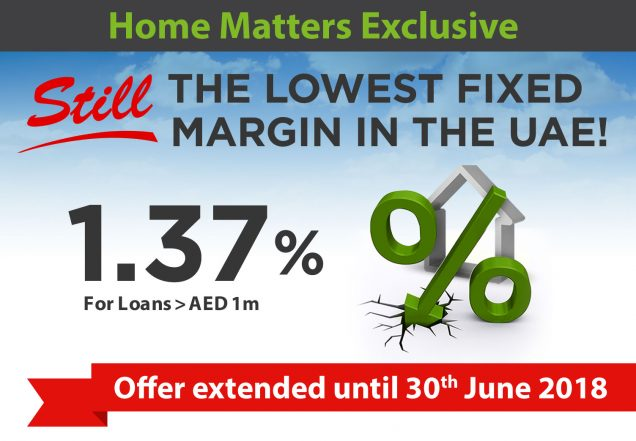 Best Mortgage Rates Dubai - Home Matters Exclusive Offer June